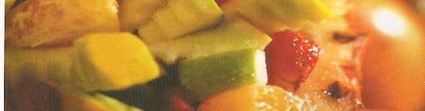 Salada de frutas exotica