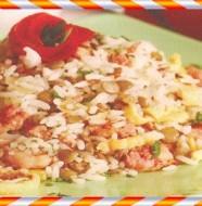 arroz com lentilha enrriquecida