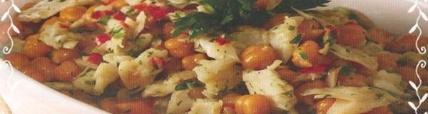 Salada de bacalhau com grao de bico 001
